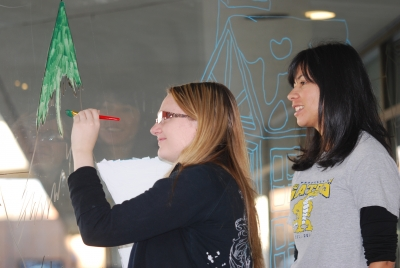 Painting the Town Red and Green – BACCSS at Tom Davies Square