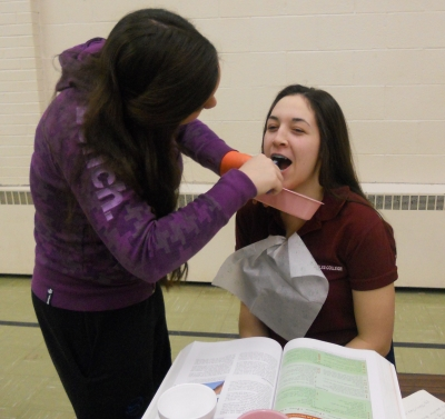 Students Get Hands-On With Health Care