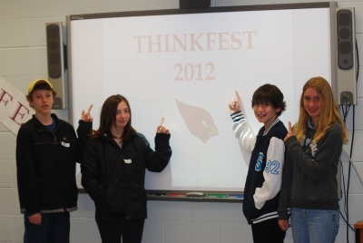 """""""Think fast"""" at Thinkfest"""