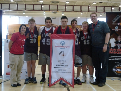 SCC Students Take Home Gold at 4 Corners Basketball Championship