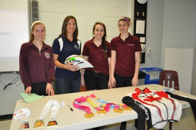 """Paralympic Athlete Brings """"Passion for Sport"""" to St. Charles College"""