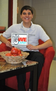 S.C.C. Student Braces for Event of a Lifetime – WE Day 2012