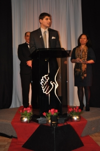 St. Charles Cardinal Receives Prestigious Young Leaders Award