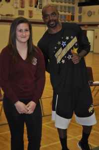 Harlem Ambassadors Deliver Messages of Confidence, B+ and Set Goals to High School Students