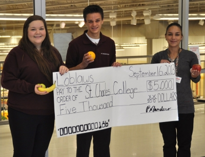 St. Charles College Scores Big with After School Grant from Loblaw