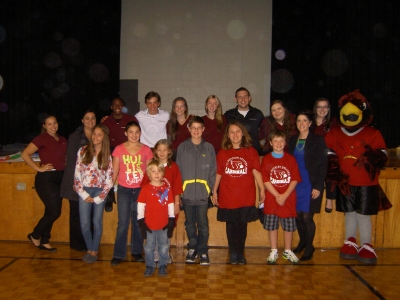 St. Raphael And St. Charles Kick Off Their Annual Food Drive