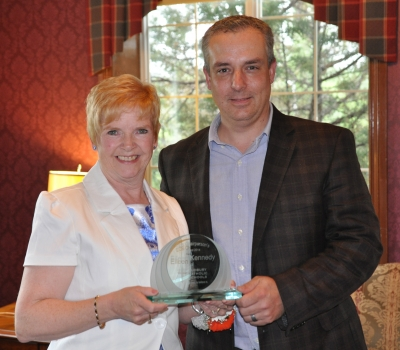 St. Charles College Educational Assistant Eileen Kennedy Wins SCDSB's Annual Chairperson's Award