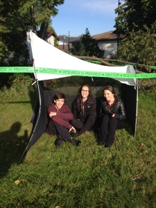 St. Charles College Students Trapping Bugs for Guelph Research Institute