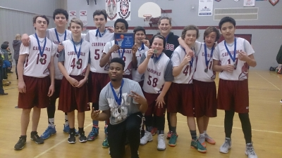 Junior Cardinals take Gold at Basketball Tournament