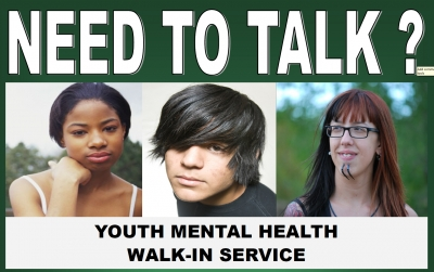 Youth Mental Health Walk-in offered for secondary students