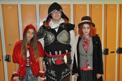 St. Charles College Spirit Week Begins with a Character Day
