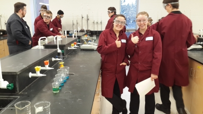 St. Charles College and Laurentian University Team UP for Chemistry