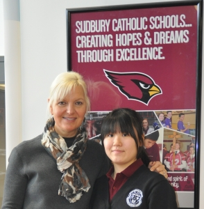Sudbury Catholic Schools welcome new international students