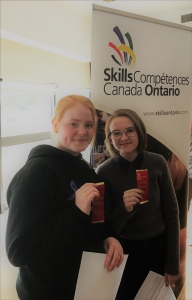 MMA students take gold at qualifications for Skills Ontario Competition, move on to provincial finals