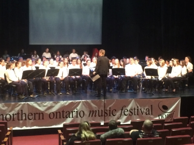Sudbury Catholic Elementary Band takes silver, gold at the Northern Ontario Music Festival