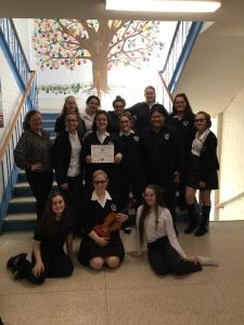 Sudbury Catholic Schools awarded as Stars of Excellence at 2017 Kiwanis Music Festival