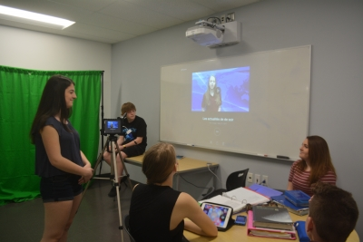 Secondary Students IGNITE their Math and Computer Skills with latest Technology!
