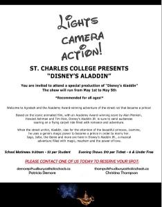 St. Charles College Presents Disney's Aladdin