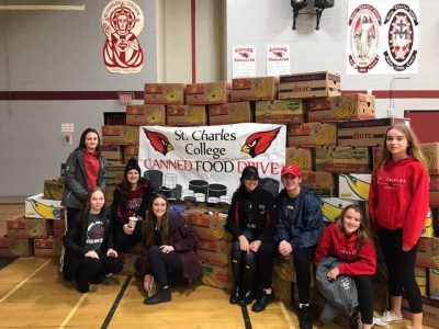 Sudbury Catholic Schools Contribute Over 175,000 Cans in Annual Food Drive Fundraiser!