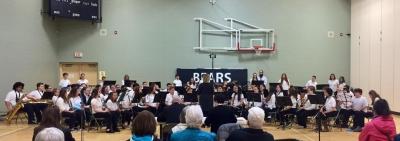 Sudbury Catholic Schools Elementary Instrumental Band receives Gold at Kiwanis Music Festival!