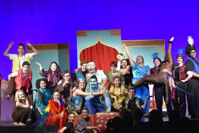 St. Charles College completes outstanding production of Aladdin Jr!