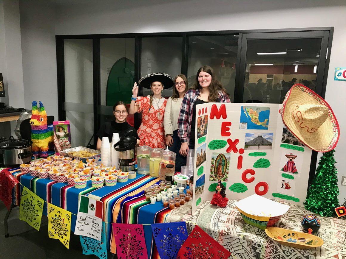 SCC's First international food fair was a hit!