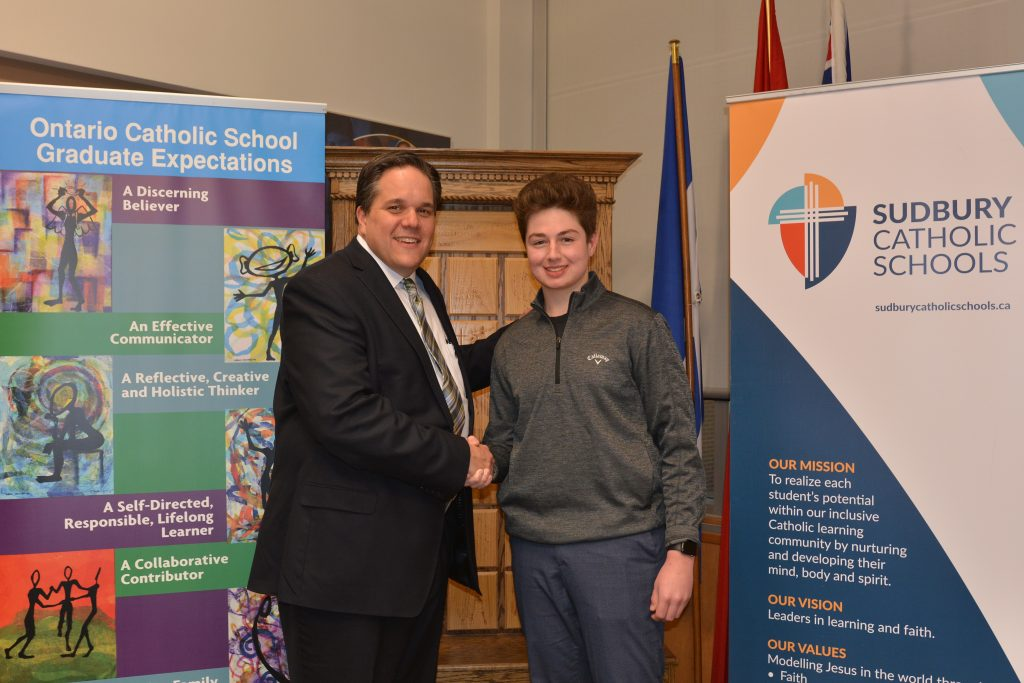 St. Charles College Student Ryan Scarpellini Appointed as Student Trustee
