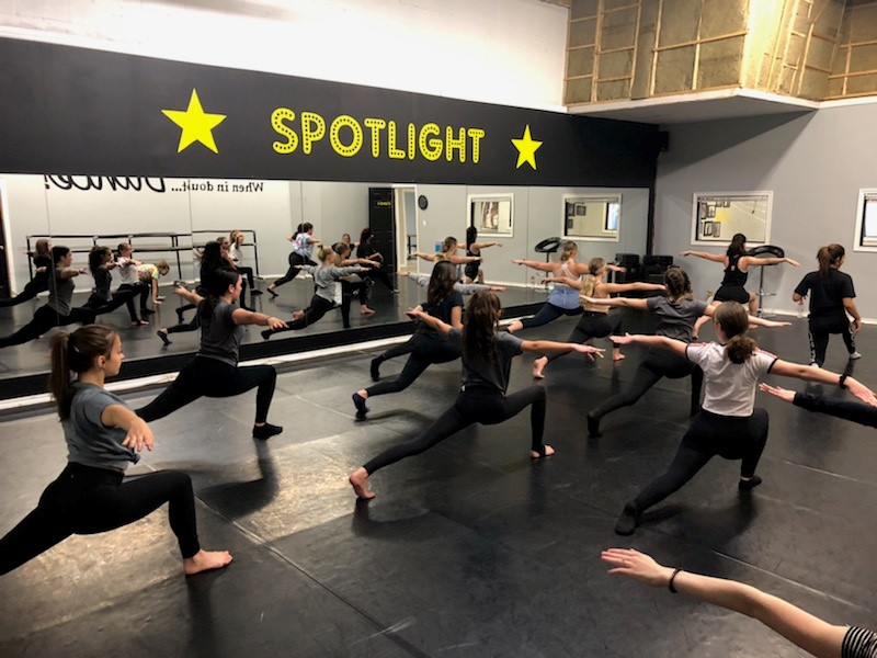 St. Charles College's Dance Focus class teams up with Spotlight Dance Company