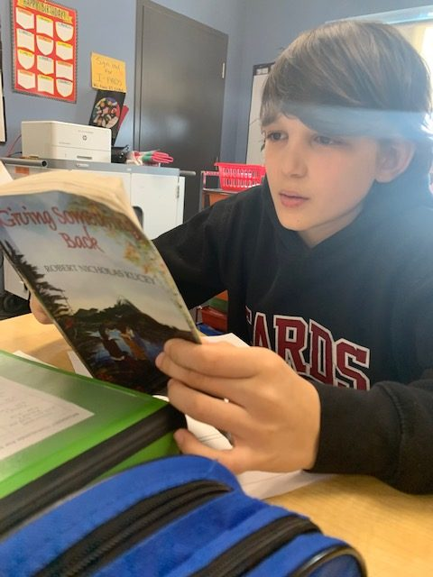 St. Charles College students take part in Family Literacy Day