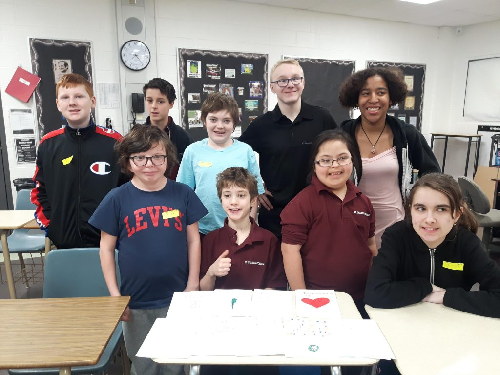SCC Students to Send out Birthday Cards to WWII Vet