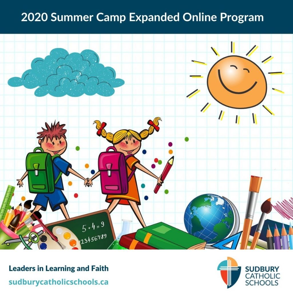 We're proud to announce the launch of the 2020 Summer Camp Online Program!