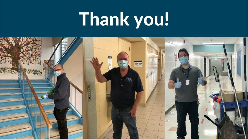 Recognizing our Custodial Staff for National Custodial Worker Appreciation Day!