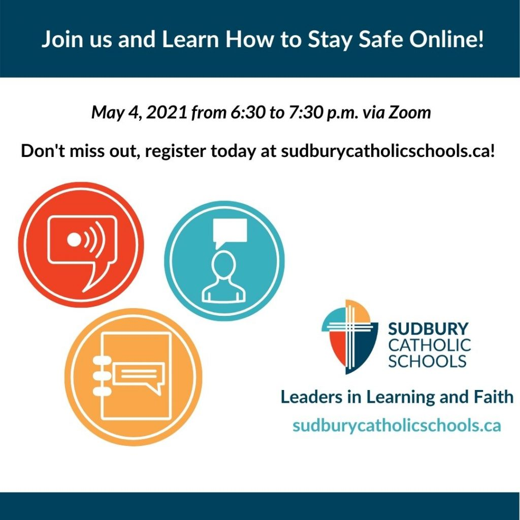 Join Us and Learn How to Stay Safe Online!